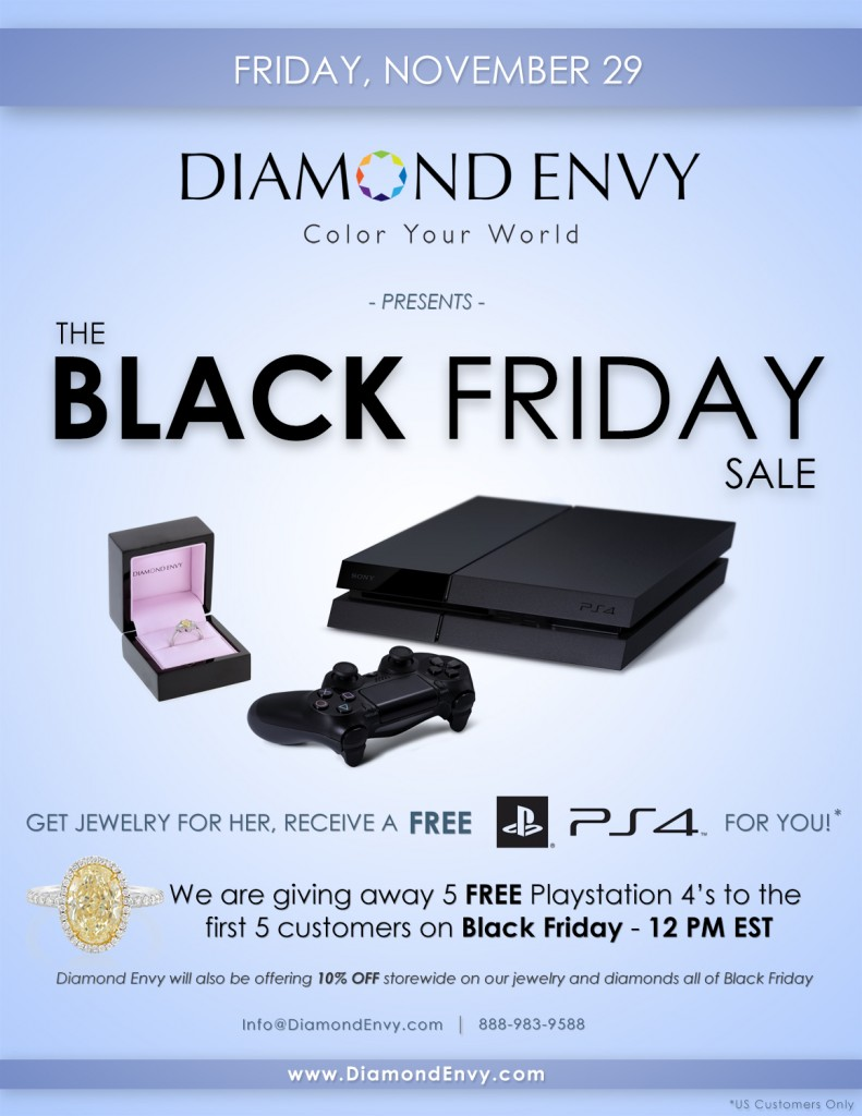 jewelry and PS4 black friday deal