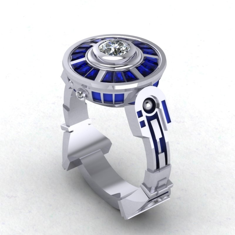 Star Wars Engagement Ring