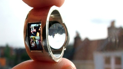 Photo Projector Engagement Ring