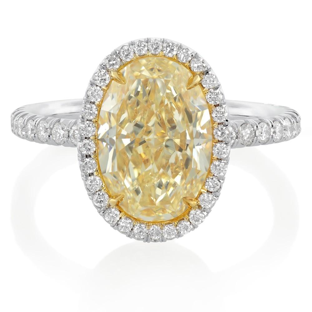 Yellow Canary Diamond Wedding Rings 8 Best