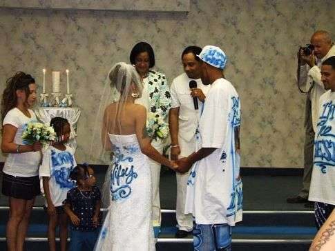 Graffiti Wedding Dress