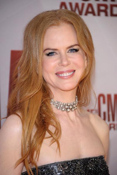 Nicole Kidman wearing a diamond choker
