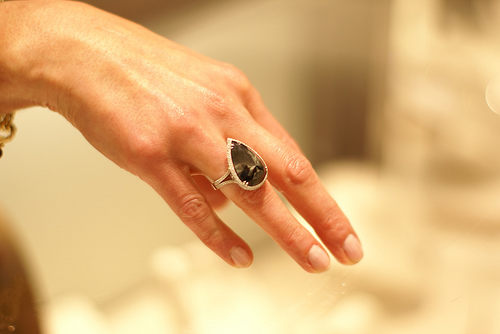 These Black Diamond Engagement Rings Will Make You Rethink