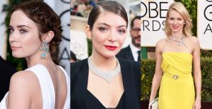 2015 Golden Globes jewelry