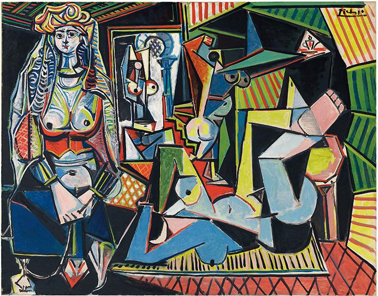 """Picasso's """"Les Femmes d'Alger (Version 'O')"""" (""""Women of Algiers"""")"""