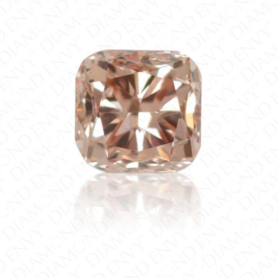 0.22 Carat Cushion Natural Fancy Brown-Pink Diamond