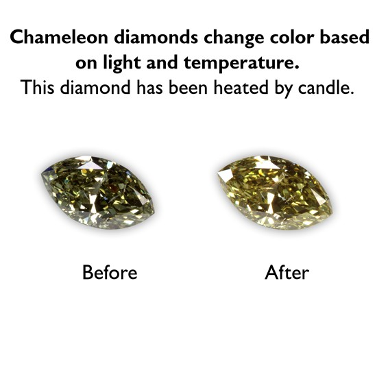 0.36 Carat Marquise Fancy Dark Chameleon Diamond