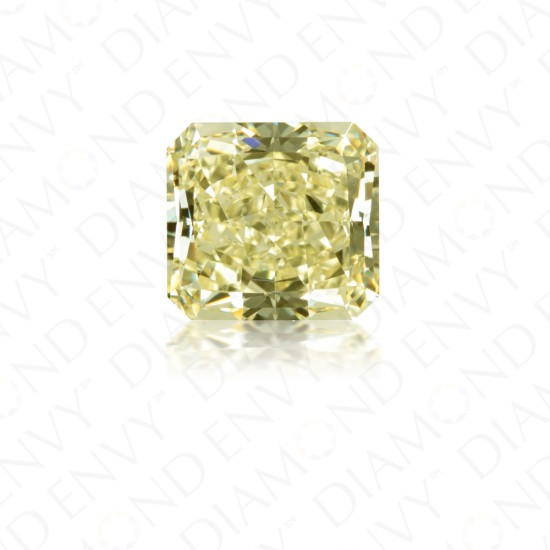 2.27 Carat Radiant Cut Yellow Diamond