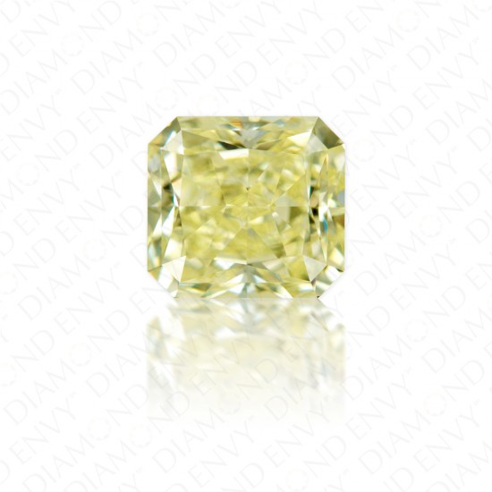 "1.23 Carat VVS2 Radiant Cut ""Y to Z Range"" Yellow Diamond"