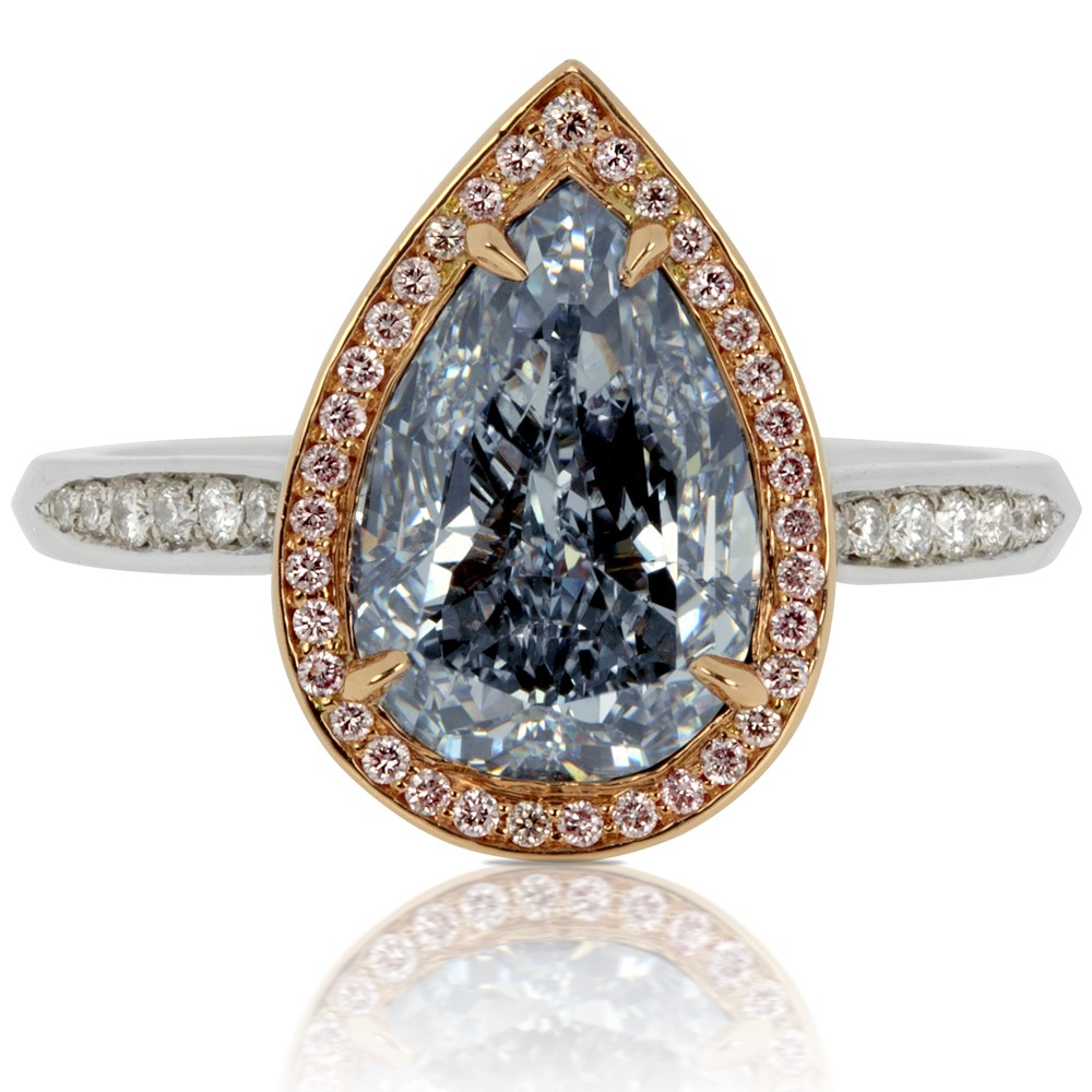 lot by a nyr tinted bvlga two stone details lotfinder colored and diamond bluea blue the bvlgari ring