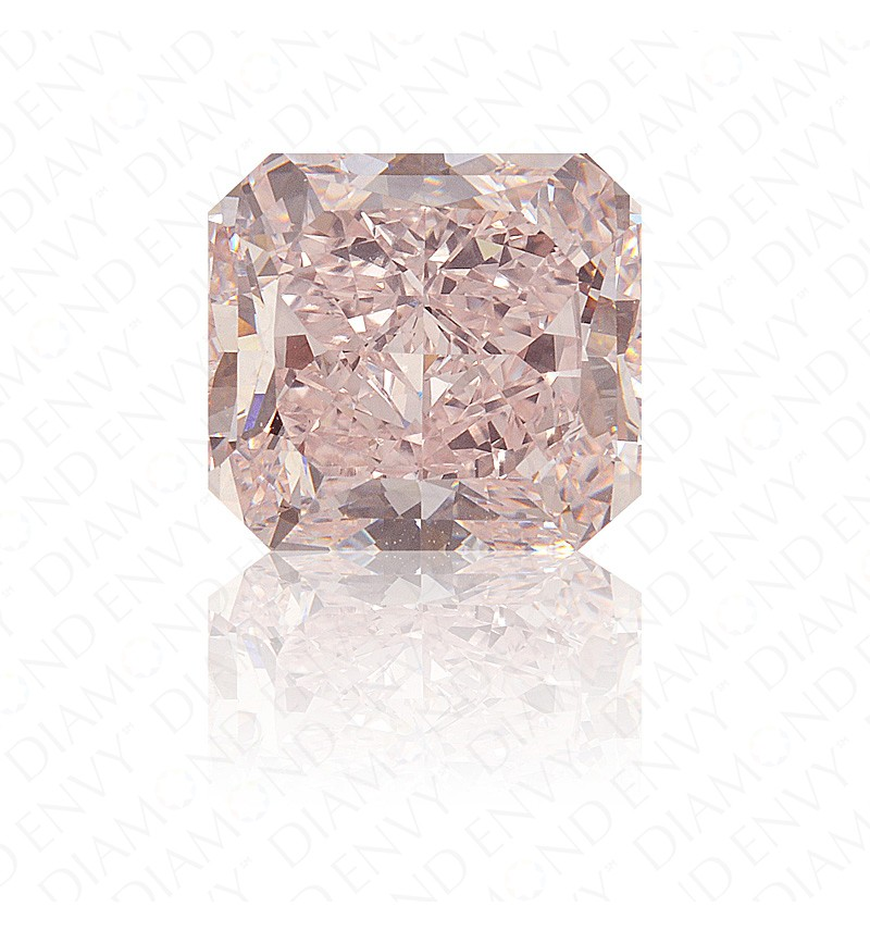 4.20 Carat IF Radiant Natural Fancy Pink Diamond