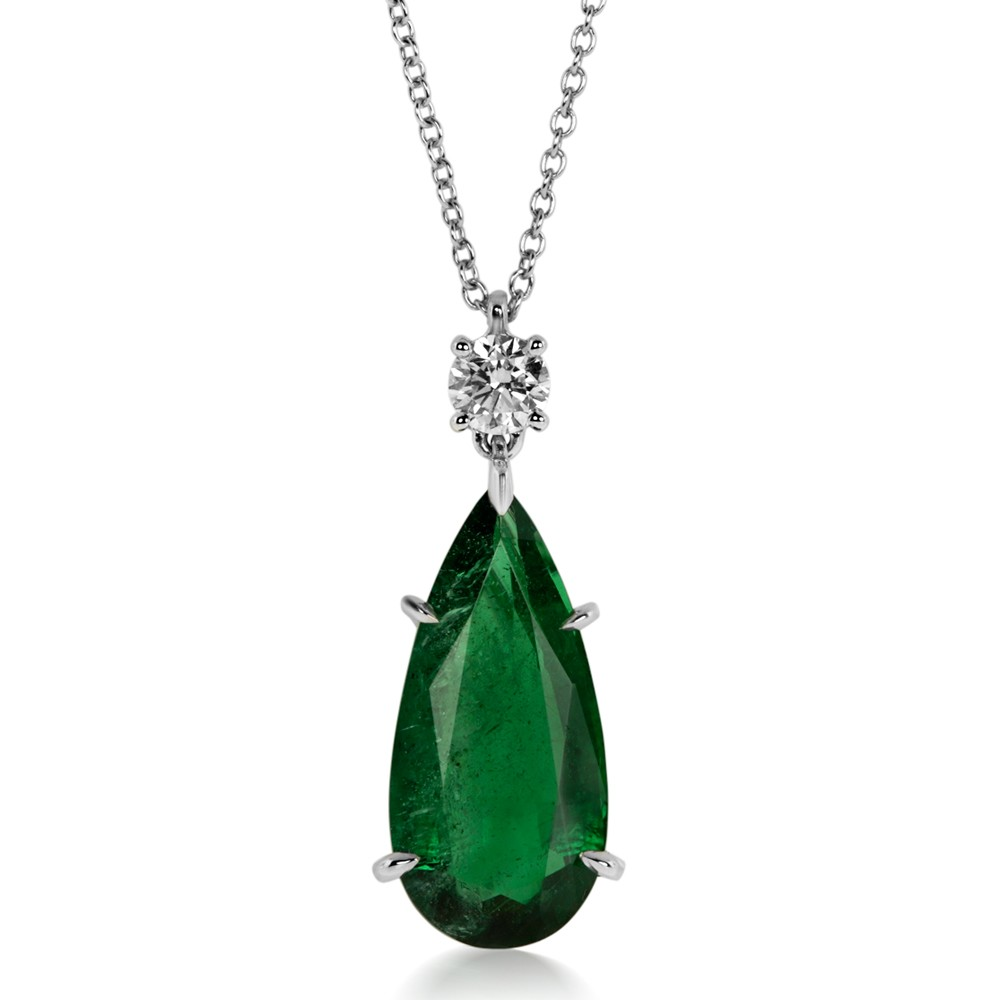 necklace on in from precious may fine birthstone item natural jewelry accessories royal genuine stone silver pendants pendant emerald sterling