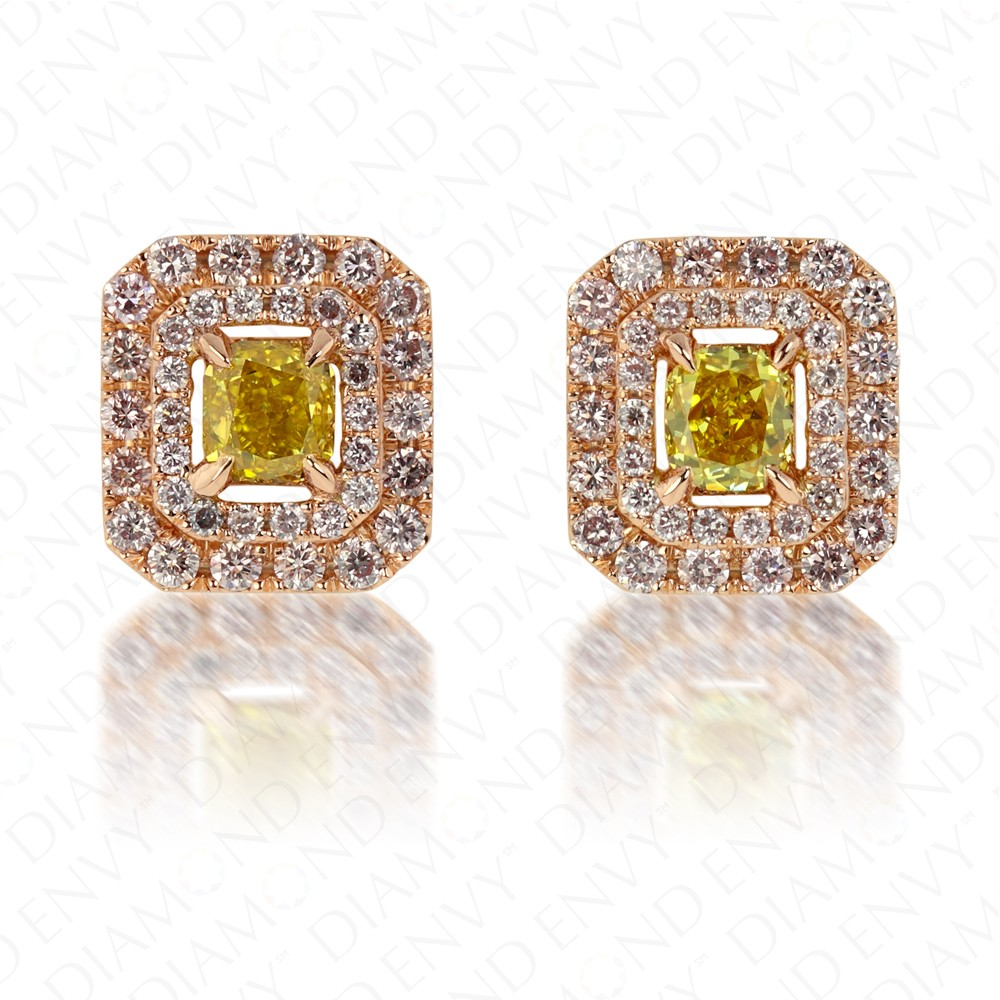 gold of and treasured champagne white gb earrings stud vermeil essentials london hires amp diamond yellow links earring en