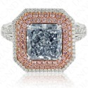 4.36 Fancy Blue Diamond Ring