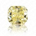 11.26 Carat Radiant Cut Natural Fancy Intense Yellow Diamond