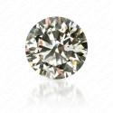 0.40 Carat Round Brilliant Natural Very Light Yellow-Green Diamond