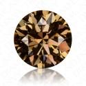 2.07 Carat Round Brilliant Natural Fancy Orange-Brown Diamond