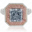 4.36 Fancy Blue Diamond Ring